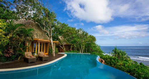 Experience all the amenities Luxury accommodations at Namale during your next trip to Fiji.