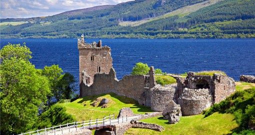 Visit Loch Ness and Urquhart Castle on your trip to Scotland