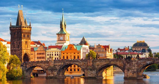 Prague has a bit of everything: historical monuments, impresive architecture, as well as vast gardens and parks