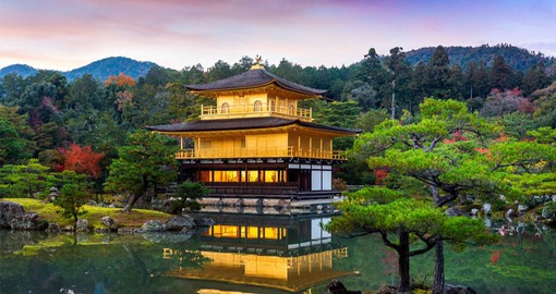 Kyoto boasts 2000 temples and shrines and was the capital of Japan from 794 until 1868