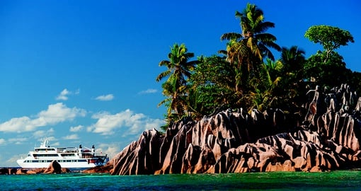 Cruising the stunning Seychelles on the M/Y Pegasus