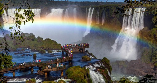 A visit to Iguassu Falls is included in your Argentina travel plan