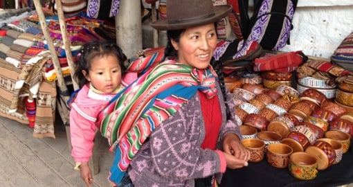 Experience local life at Pisac Market, Sacred Valley on your Peru Vacation