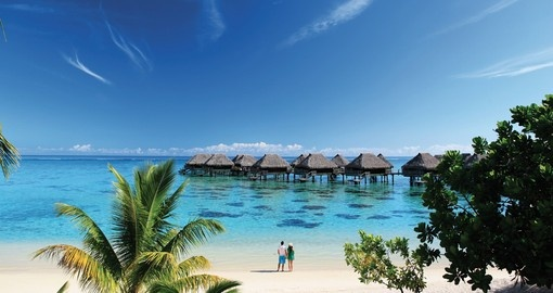 Amazing view of the beach side during your next trip to Tahiti.