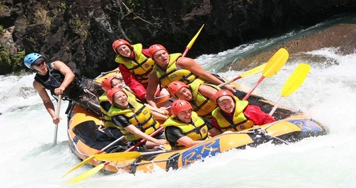 Enjoy a day of Rafting on the Tully River on your Australia Vacation