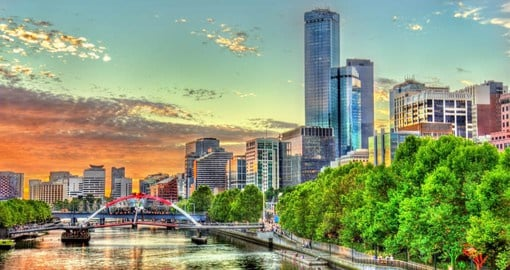 Dynamic Melbourne boasts world-class dining, art galleries, homegrown fashion and a packed sports calendar