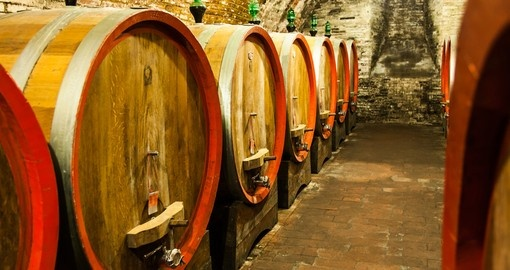 Wine from Val d'Orcia