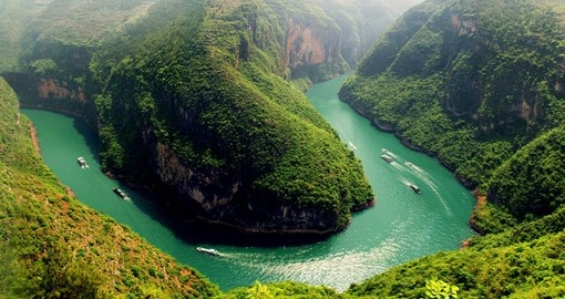 Explore breathtaking view of the Three Gorges on your next Tours to China.