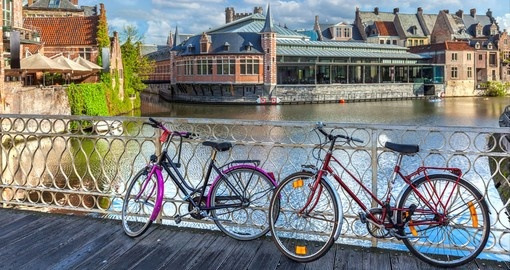 Bicycles in Ghent