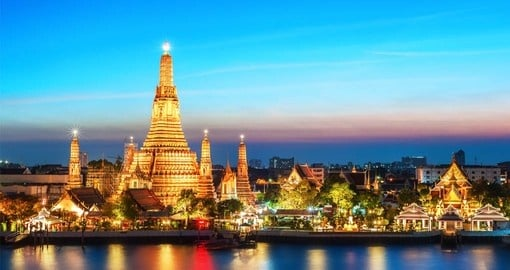 Experience the various religious temples on your Thailand vacation