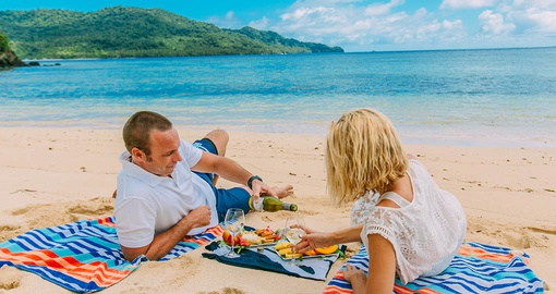 Picnic in Paradise on your  Fij iVacation