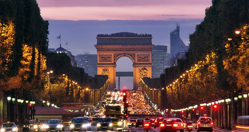 Stroll the Champs-Elysees on your France vacation