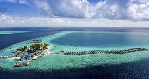 Your 11 day Maldives vacation includes a stay at the Centara Ras Fushi.