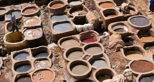 The tanneries date back at least nine centuries