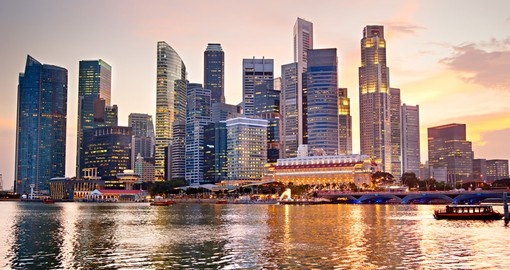 The impressive skyline is part of trips to Singapore