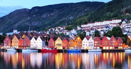 Bergen's waterfront