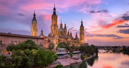 Spain's fifth-largest city, Zaragoza is home to the Basílica del Pilar