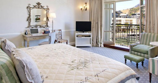 Stay at the luxurious Cape Grace on your South Africa travel