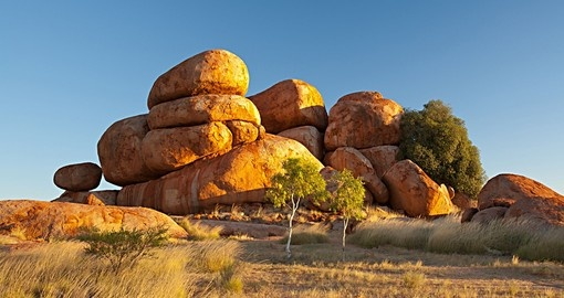 The Devil's Marbles in the Northern Territory are a great photo opportunity on Australia vacations.
