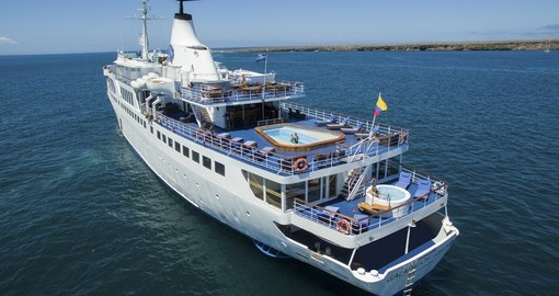 Visit the exotic waters off Ecuador onboard the MV Legend