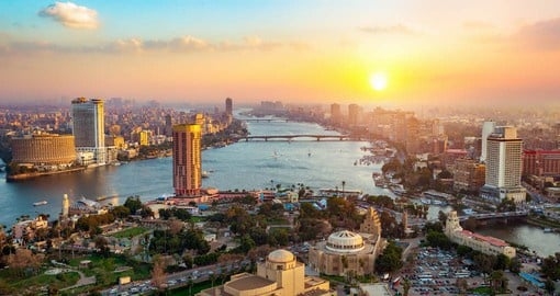With a population of over 20 million, Cairo is the largest metropolis in Africa