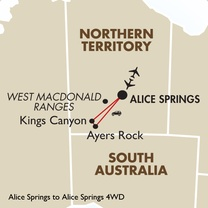 3 Day Alice Springs 4WD