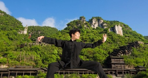 Start the day with Tai Chi on your next China Tours.
