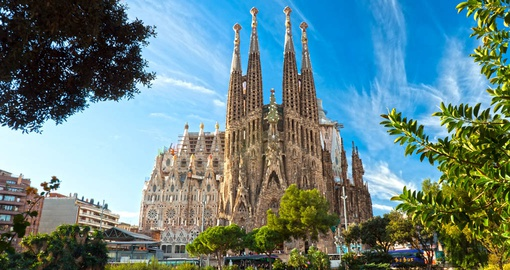 Tour the famous Sagrada Familia on your Spain Tour
