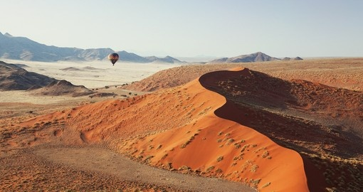 Discover Sossusvlei during your next Namibia tours.