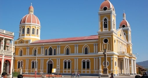 Tour the Granada Cathedral on your trip to Nicaragua