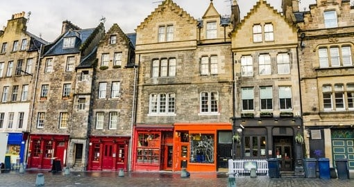 Visit Edinburgh - Old Town and enjoy beautiful architecture of the city during your next trip to Scotland.
