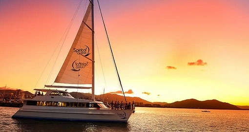 Embark on a dinner cruise in Cairns during your Australia vacation.
