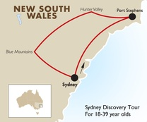 Sydney Discovery Tour: For 18-39 year olds