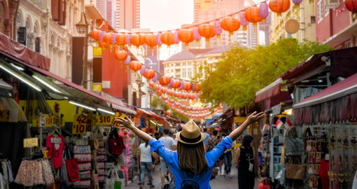 Visit Chinatown on your trip to Singapore