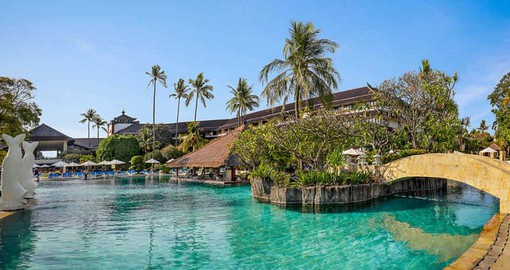 Enjoy Bali in style at the Discovery Kartika Plaza Hotel