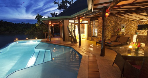 Savasi Island Villa Fiji Vacations Goway Travel