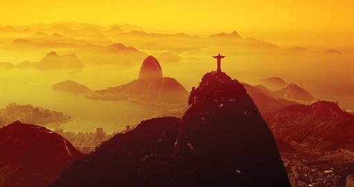Corcovado at Sunrise