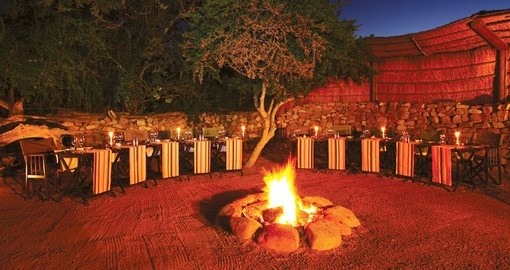 Enjoy delicious Boma dinner on your next South Africa tours.