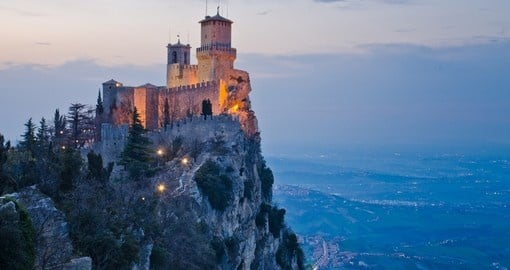 Rocca Della Guaita - a great photo opportunity while on your San Marino vacation.