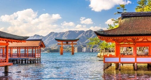 Visit the Float Shire at Miyajima on your Japan Tours
