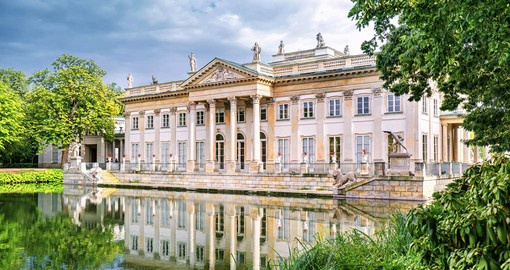 One of Europe's most beautiful palace and park complexes, Lazienki was established in the 17th century