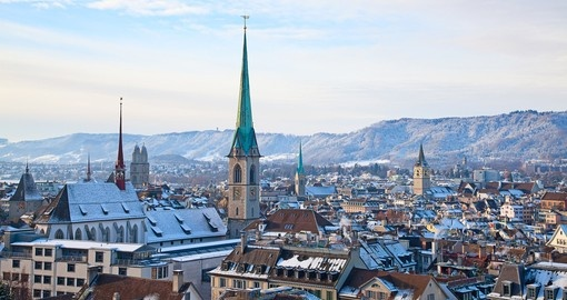 Zurich is the historical city and financial capital