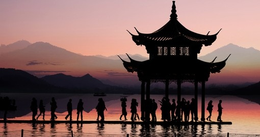 See beautiful traditional Pavilions on your China Tour