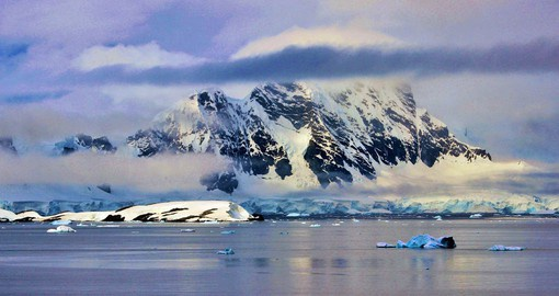 The stunning and wild Weddell Sea region on the eastern side of the Antarctic Peninsula
