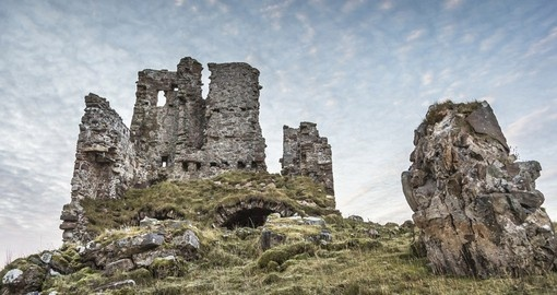 Ardvreck Castle on Loch Assynt in Scotland