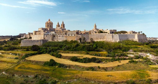 Mdina is one of Europe's finest examples of an ancient walled city