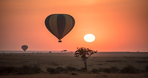 Experience Hot Air Balloon at Masai Mara during your next Kenya vacations.