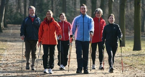 Make a Nordic Walking Tour of Berlin part of your trip to Germany