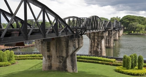 The river was made famous by the film Bridge over the River Kwai