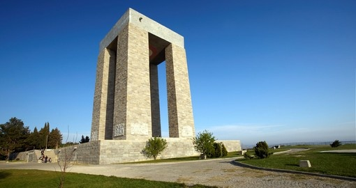 You will see the Gallipoli Monument when visiting Turkey